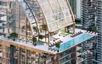 NEW RENDERINGS OF SKY POOL & ATRIUM PLANNED AT 50-STORY LEGACY HOTEL & RESIDENCES MIAMI WORLDCENTER; CONSTRUCTION TO BEGIN LATE SUMMER 2020